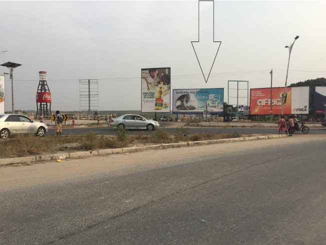 5m x 10m Billboard For Rent on Spintex Road | Ghana